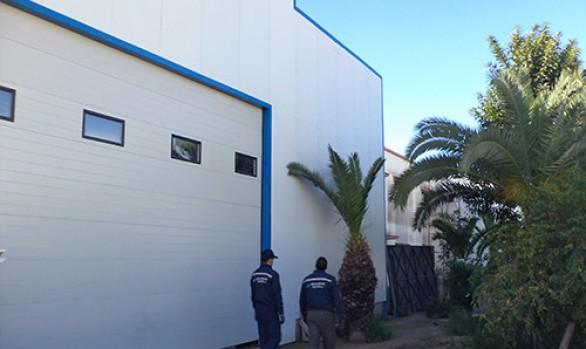 Porte sectionnelle 4